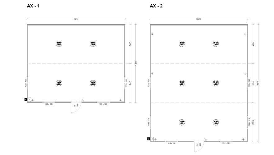 Модулни контейнери серия AX