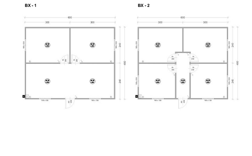 Модулни контейнери серия BX