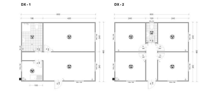 Модулни контейнери серия DX